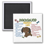 Dachshund Property Laws 4 2 Inch Square Magnet