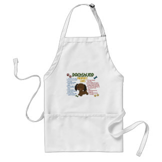 Dachshund Property Laws 4 Adult Apron