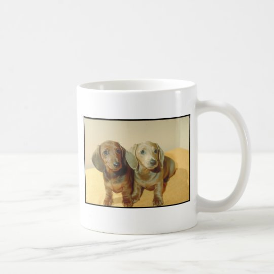Dachshund Puppies Coffee Mug