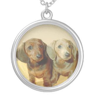 Dachshund Puppies Necklace