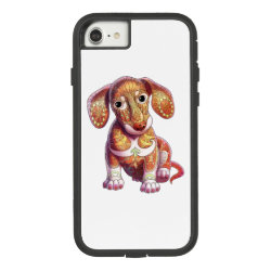 Case-Mate Barely There iPhone 7 Case with Dachshund Phone Cases design