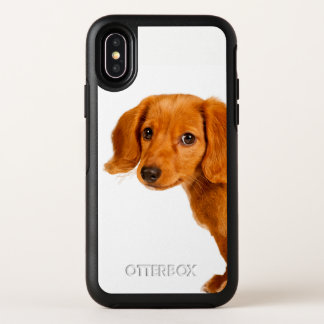 Dachshund puppy dog OtterBox symmetry iPhone x case