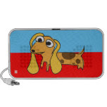 Dachshund Puppy Doodle Travelling Speakers