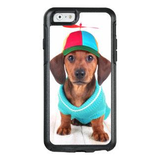 Dachshund Puppy Wearing Propeller Hat OtterBox iPhone 6/6s Case