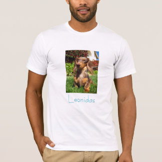 Dachshund Rescue [#2] Portrait Mens T-Shirt