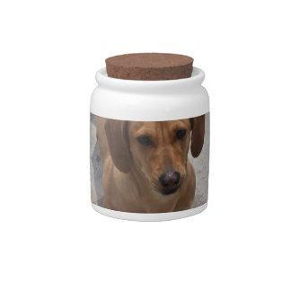 Dachshund Rescue Candy Jar