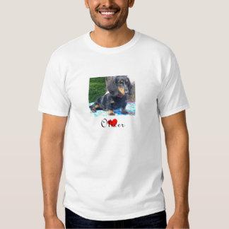 Dachshund Rescue - Landscape Mens T-Shirt