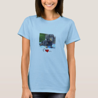 Dachshund Rescue - Landscape Womens T-Shirt