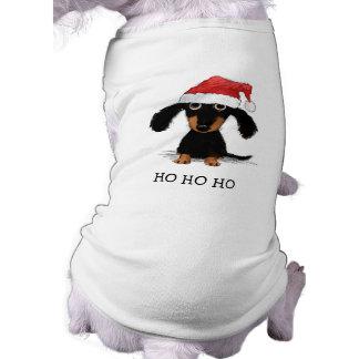 Dachshund Santa Clause - Funny Christmas Dog T-Shirt