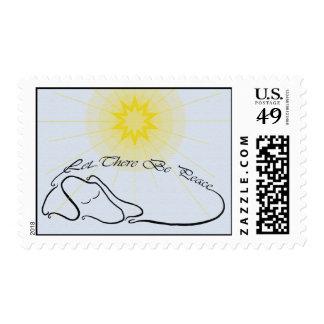dachshund seasonal postage