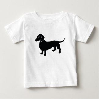 Dachshund Silhouette Baby T-Shirt