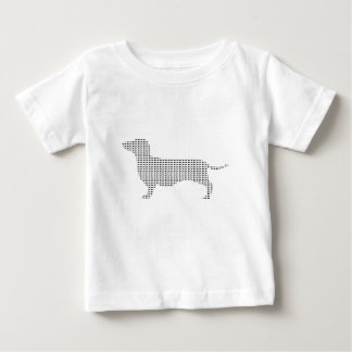 Dachshund Silhouette From Many Baby T-Shirt