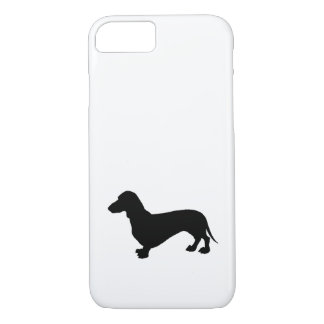 Dachshund Silhouette iPhone 8/7 Case