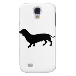 Dachshund Silhouette Samsung Galaxy S4 Cover
