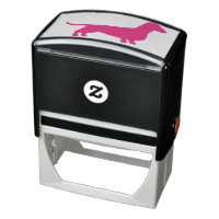 Dachshund Silhouette Self-inking Stamp