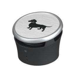 Dachshund Silhouette Speaker
