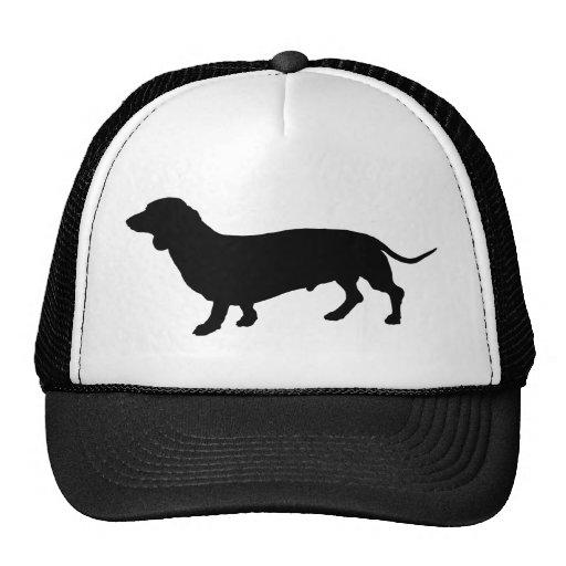 Dachshund Silhouette Trucker Hat