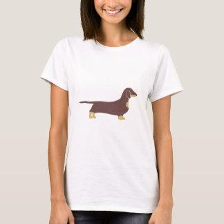 dachshund silo chocolate and tan T-Shirt