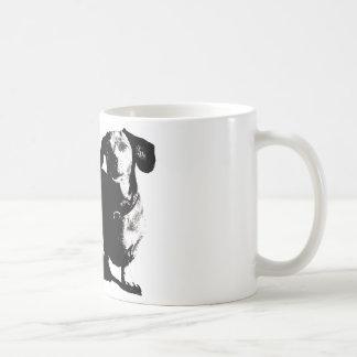 Dachshund Sketch Coffee Mug