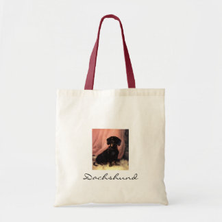 Dachshund small tote
