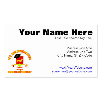 Dachshund [Smooth] Double-Sided Standard Business Cards (Pack Of 100)