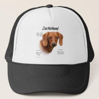 Dachshund (smooth) History Design Trucker Hat