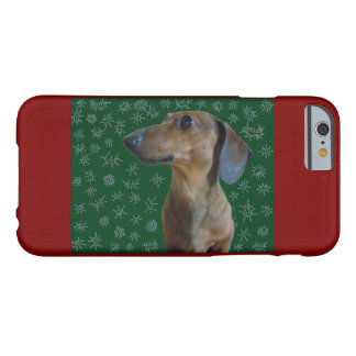 Dachshund Snow Barely There iPhone 6 Case