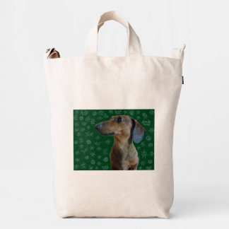 Dachshund Snow Duck Bag
