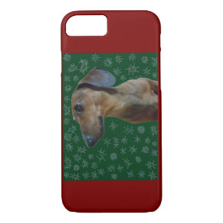 Dachshund Snow iPhone 7 Case