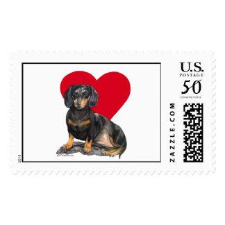 Dachshund! (stamp) postage