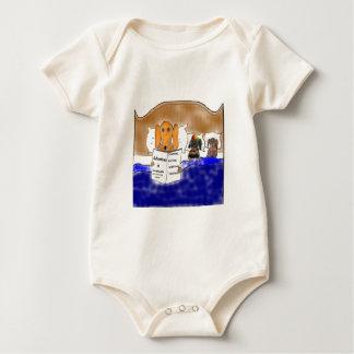 Dachshund Story Time Baby Bodysuit