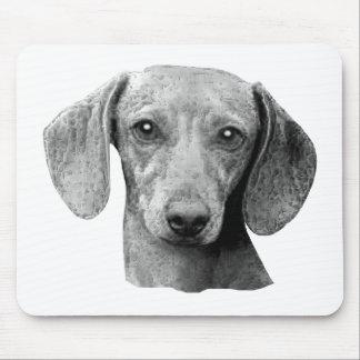 Dachshund - Stylized Image Mouse Pad