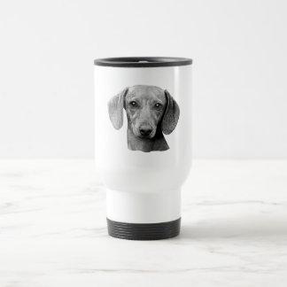 Dachshund - Stylized Image Travel Mug