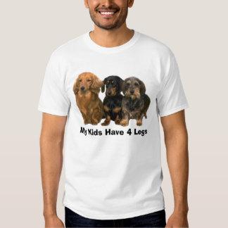 Dachshund T-Shirt My Kids Have 4 Legs