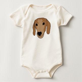 Dachshund (Tater Chip) Baby Bodysuit