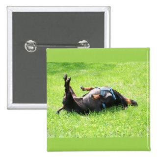 Dachshund - TGIF Pinback Button