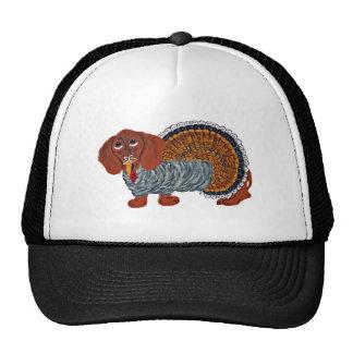 Dachshund Thanksgiving Turkey Trucker Hat