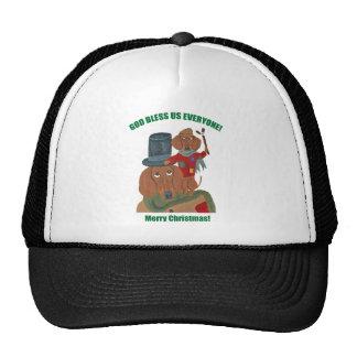 Dachshund Tiny Tim Trucker Hat