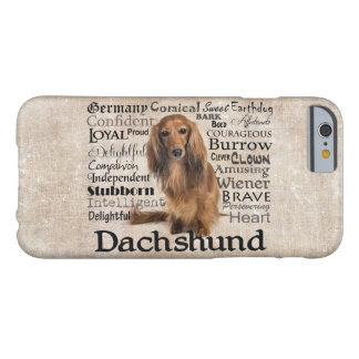 Dachshund Traits iPhone 6 Case