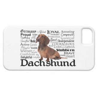Dachshund Traits Smartphone Case