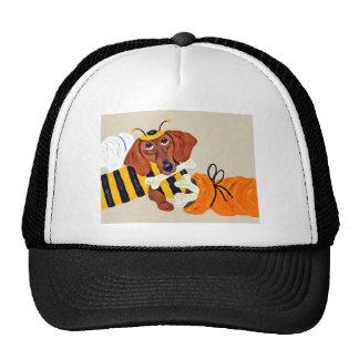 Dachshund Trick Or Treat Trucker Hat
