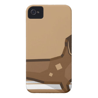 Dachshund vector stylized Case-Mate iPhone 4 case