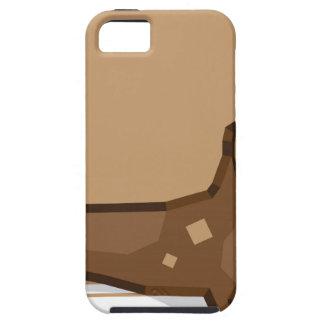 Dachshund vector stylized iPhone SE/5/5s case