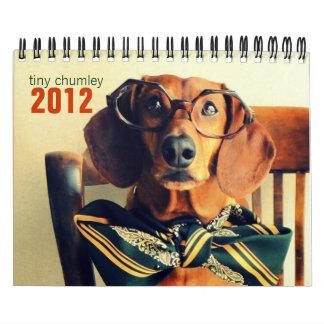 dachshund wall calendar 2012 - tiny chumley