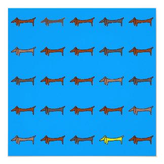 Dachshund, Weiner Dog Card