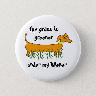 Dachshund Wiener Button