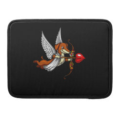Macbook Pro 13' Flap Sleeve with Dachshund Phone Cases design