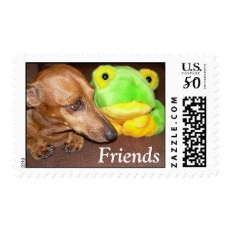 Dachshund Wiener dog freinds Dachsie Postage