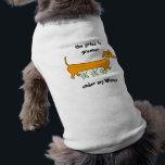 "Dachshund Wiener Dog Tee<br><div class=""desc"">Dachshund Gifts  funny dachshund dog shirt: grass is greener under my Wiener  for doxies! dachshund doxies weiner dogs</div>"