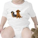 Dachshund Wiener Dogs Infant One Piece Baby Bodysuit